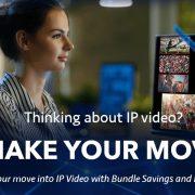 Newtek IP Video make your move banner