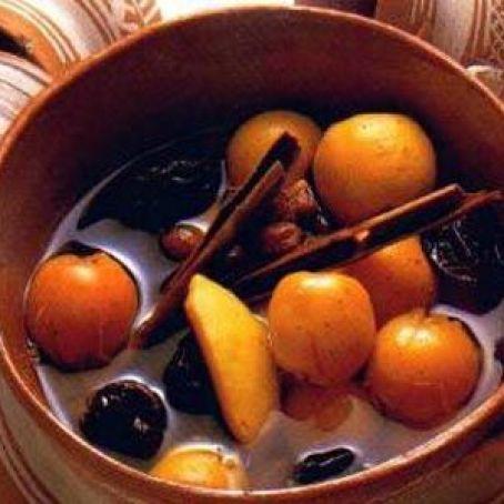 Ponche navideño Recipe - (4.5/5)