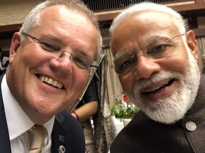 The Prime Minister of Australia wished the people of India a happy Independence Day