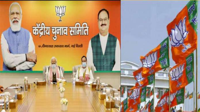 Today BJP Announced Candidates List