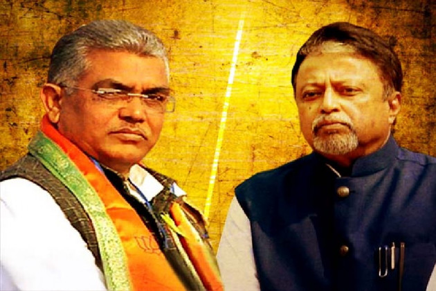 Dilip ghosh reaction on Mukul Roy