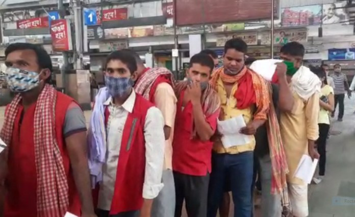 Vaccination of Eastern Railway workers started