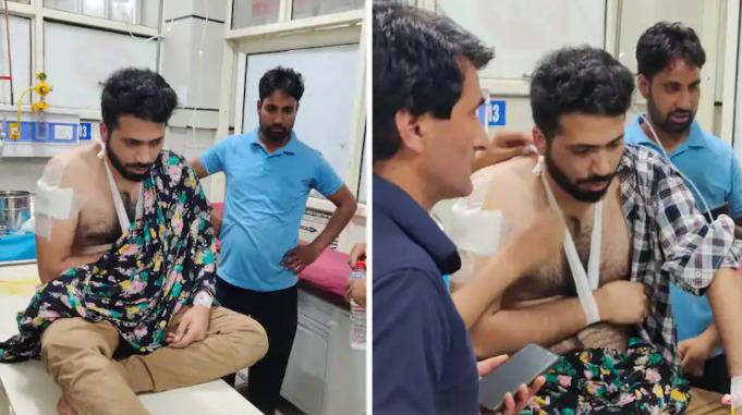 Fake militant attack in Kashmir, two BJP leaders arrested