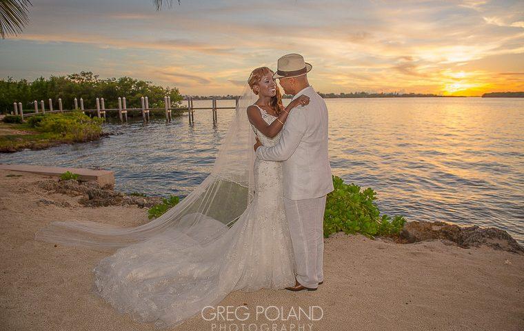 Sunset Beach Weddings in South Florida FL Keys Wedding Ideas  Key Largo Lighthouse Beach Weddings