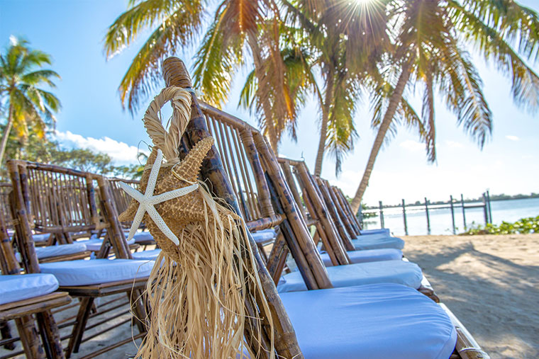 how to make chair covers for a party baby blow up ring linens & more florida keys, wedding event rentals in keys - key largo lighthouse beach ...