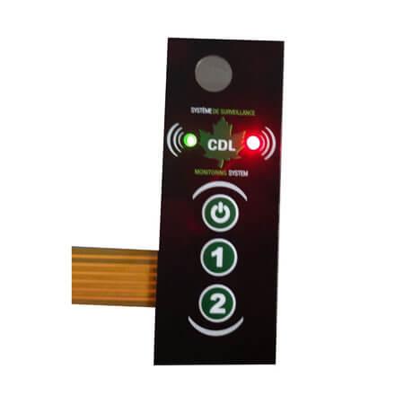 LGF backlight membrane switch