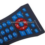 Resin membrane switch