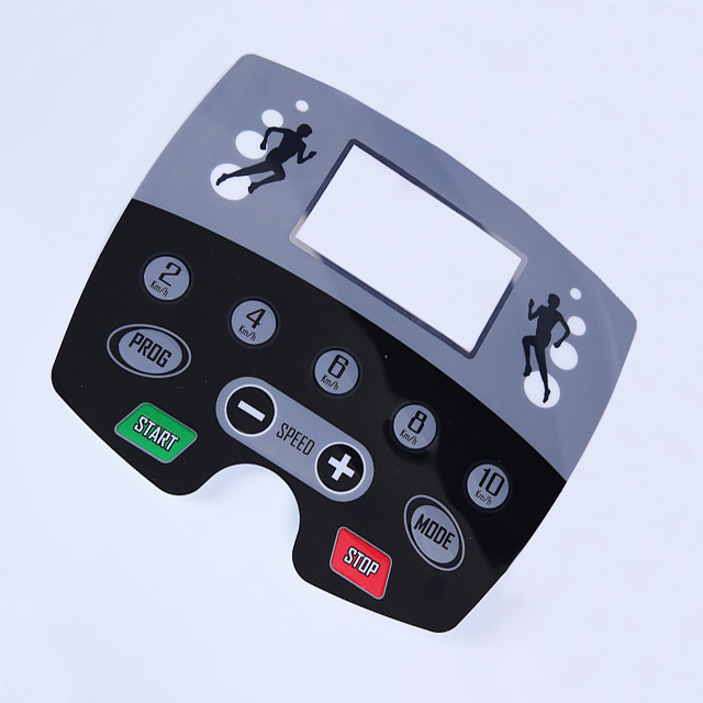 Custom Electronic Control Panel Membrane Switch Button