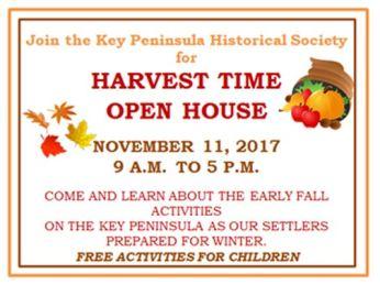KPHS harvest time open house flyer