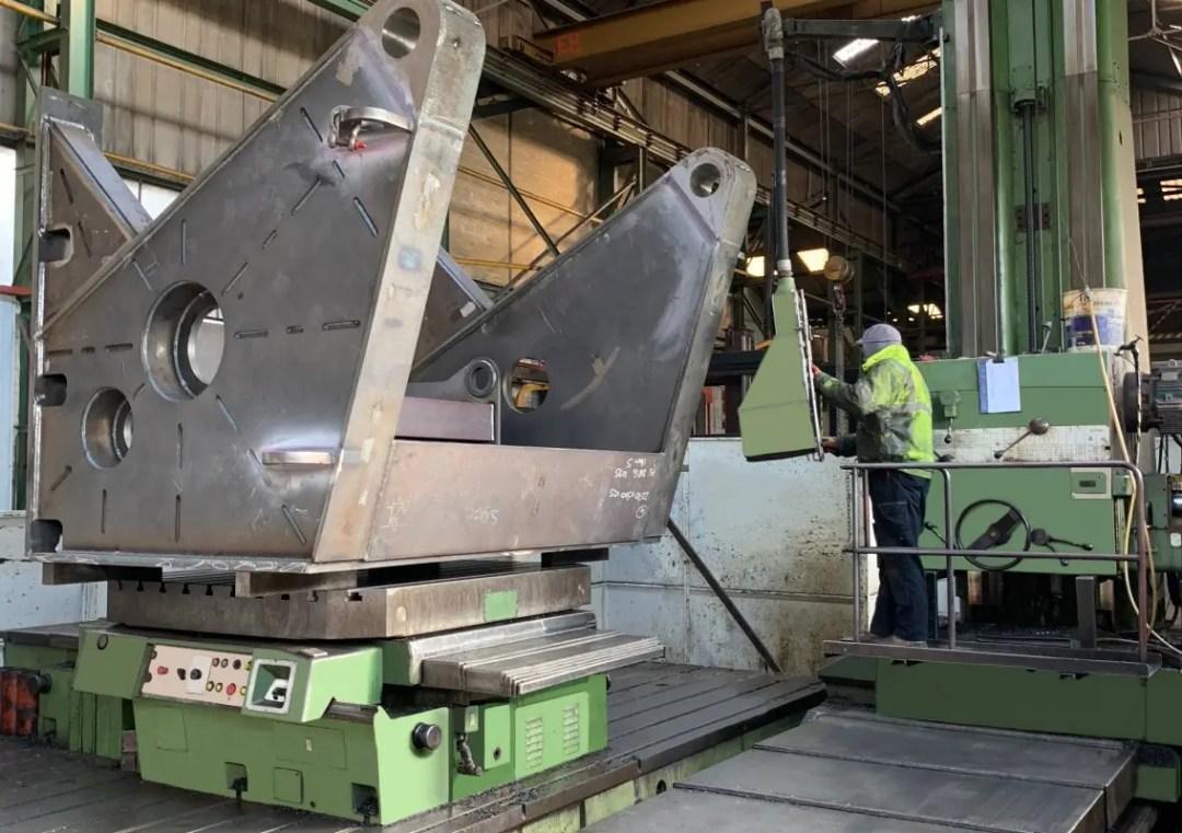 Key Plant machining process