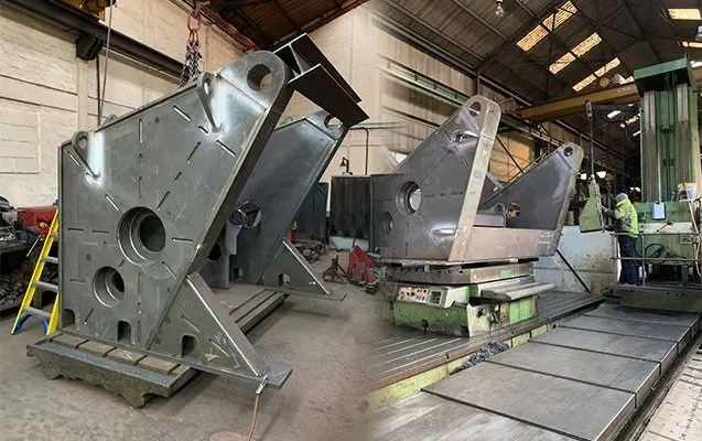 Welding positioners weld integratory by NDT weld testing