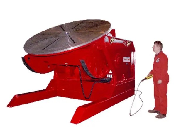 20 Ton Welding Positioner for manufacturing magnets