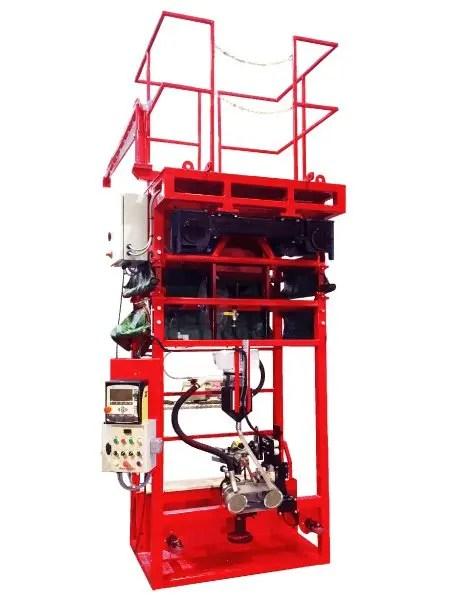 Single sided Tank Girth welder for Storage Tank Fabrication