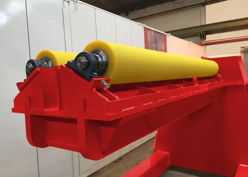 Special internal welding rotator