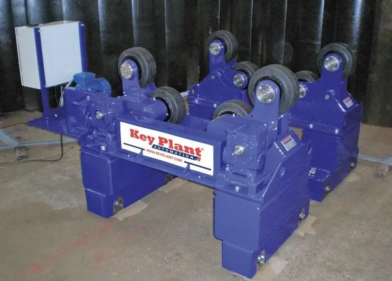 special purpose 5 ton SAR welding rotators