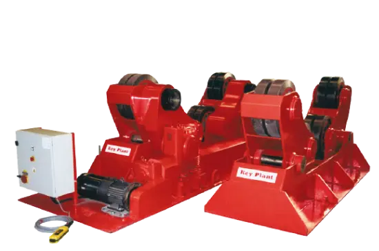 Self Aligning welding rotators turning rolls and pipe rollers
