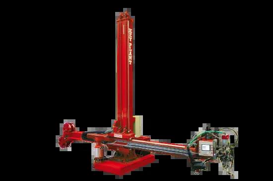 Standard column and boom welding manipulator