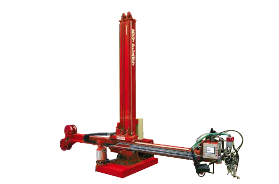 Standard column and boom welding manipulator