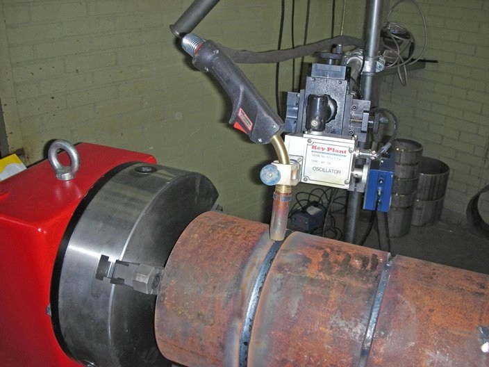 3 Jaw self centering welding chuck
