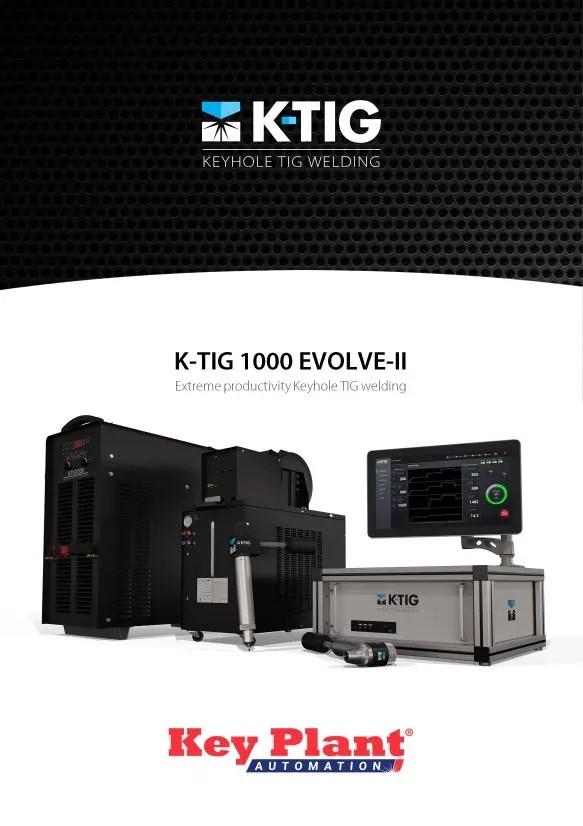 Key Plant K-Tig Evolve-II brochure