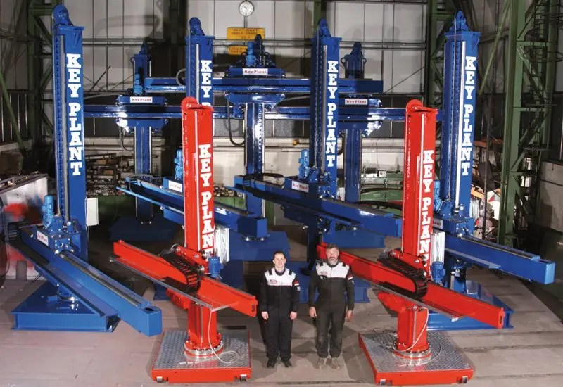 short and long term weld automation and positioner equipment entals