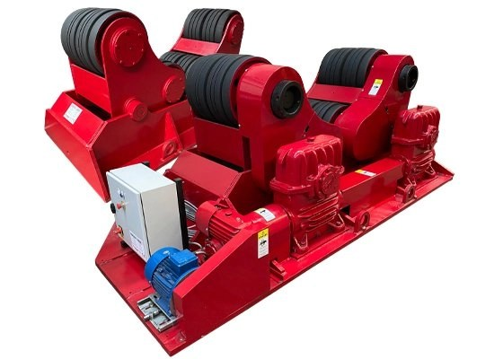 150 ton self aligning rotator / turning roll used equipment