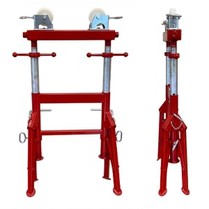 Double Roll pipe stand