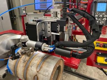 K-Tig demo lab at Key Plant USA