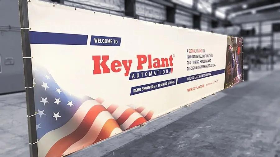 Key Plant USA demo area and weld training school