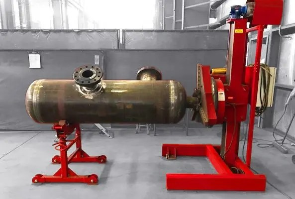 welding positioner and headstock