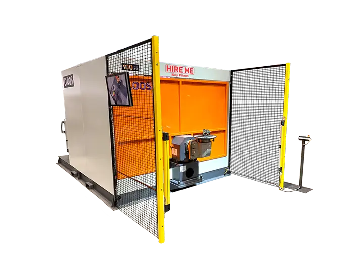 Rent robotic welding cells from Key Plant automation