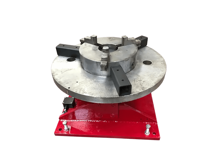 Rent welding floor turntables from Key Plant Automation