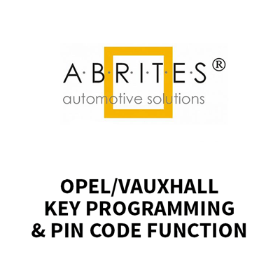 ON013 AVDI Key Programming and Pin Code Function for Opel