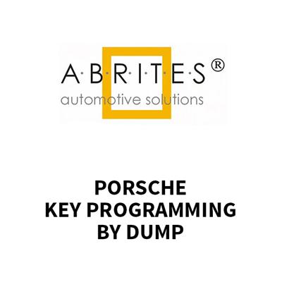 KT012 AVDI Porsche BCM & Key Programming by Dump