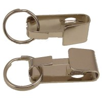 Belt Key Holder Metal Keychain With Removable Keyring - My ...
