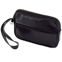Rectangle Coin Purse with Zipper and Loop