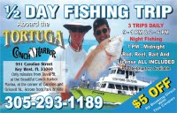 Key West Half Day Fishing Trip Aboard the Tortuga | Key ...