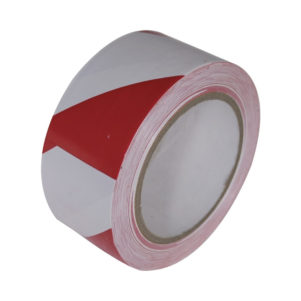 Floor Marking Tape 50mm x 33m Red and White  from Key