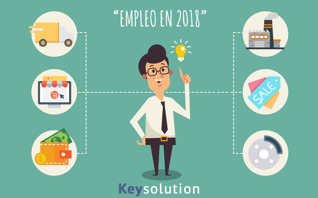 Empleo en 2018, ¿dónde va a estar?