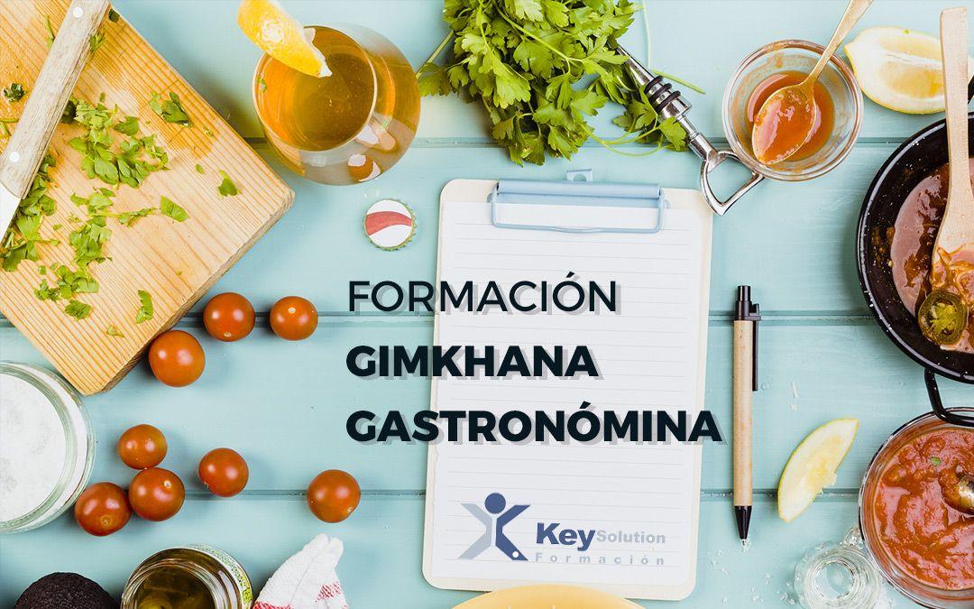 Formación Gimkhana Gastronómica
