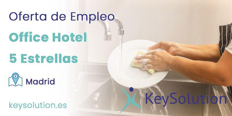 office hotel 5 estrellas madrid empleo