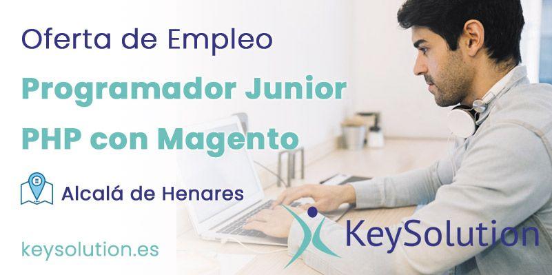 Programador Junior PHP con Magento