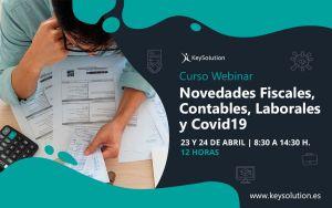 Curso Novedades Fiscales, Contables, Laborales y Covid19
