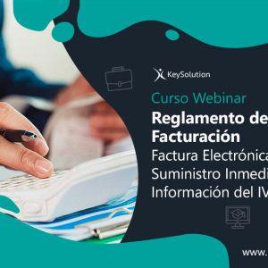 Curso sobre Reglamento de Facturacion, Factura Electronica y Suministro Inmediato de la Información del IVA