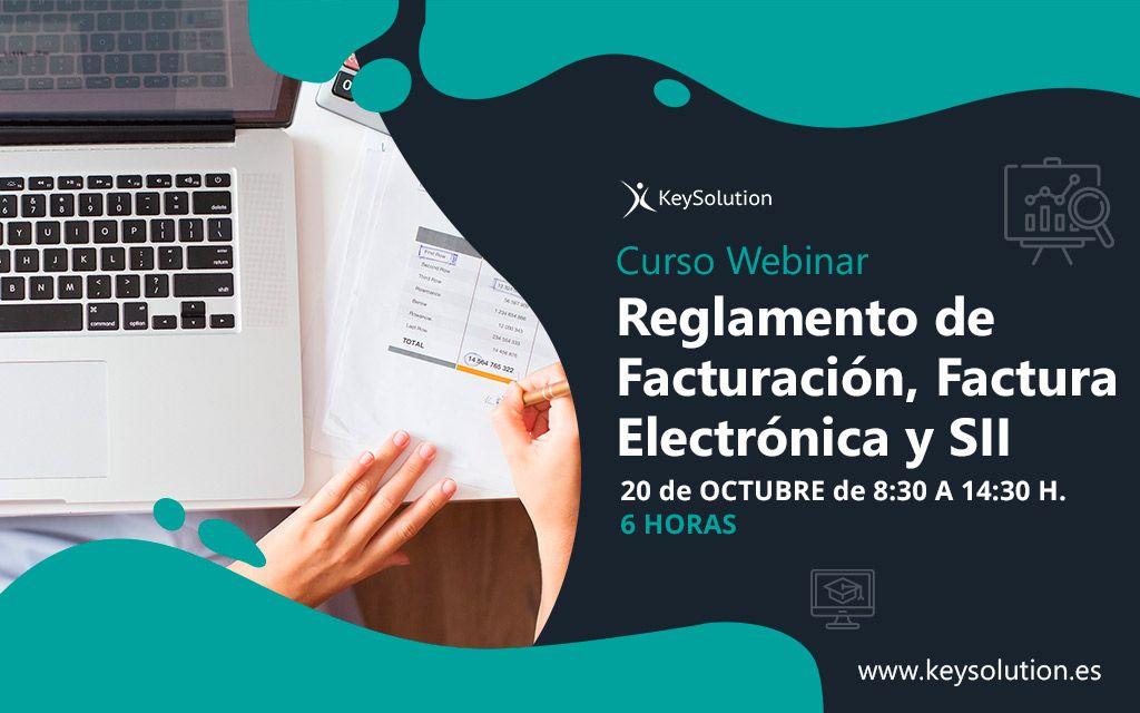 curso sobre reglamento de facturación, factura electrónica y SII keysolution