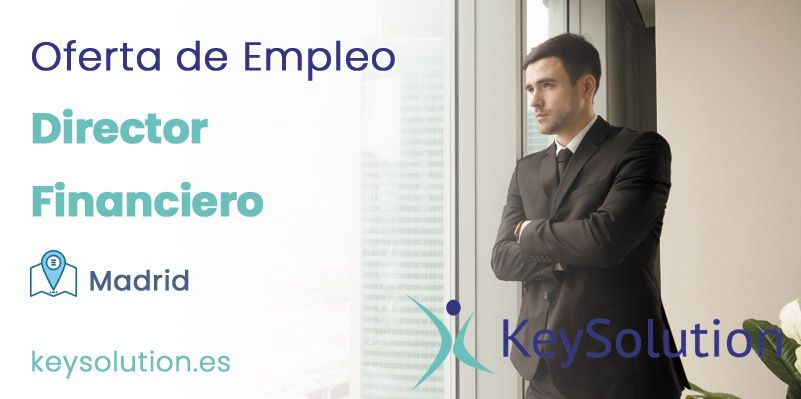 director financiero empleo madrid keysolution