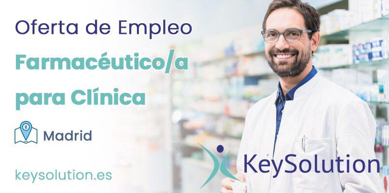 farmacéutico empleo madrid clínica