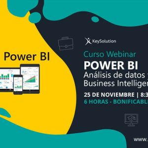 curso webinar Power BI keysolution