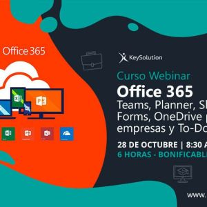 webinar office 365 curso keysolution 6 horas