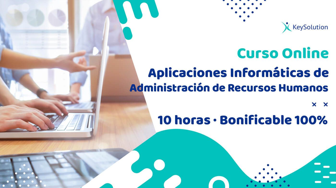 Curso Online sobre Aplicaciones Informáticas de Administración de Recursos Humanos